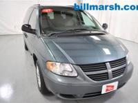 Grand Caravan SE, Green, Air conditioning, AM/FM radio