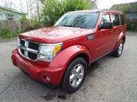 This GORGEOUS Dodge Nitro SLT 4x4 is a top-of-the-line,