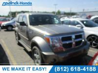 CARFAX One-Owner. Champagne 2007 Dodge Nitro SLT 4WD