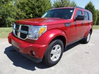 2007 Dodge Nitro SUV SXT 4WD Our Location is: Cadillac