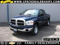 This 2007 Dodge Ram 1500 is equipped with manual