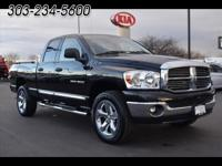 This 2007 Dodge Ram 1500 comes with Navigation, Gray