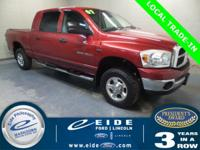 2007 Dodge Ram 1500 Mega Cab SLT Highlighted with