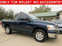 Exterior Color: blue, Body: Regular Cab Pickup, Engine: