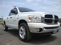 This 2007 Dodge Ram 1500 SLT 4x4 Truck features a 5.7L