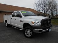2007 DODGE RAM 2500 CREW CAB UTILITY TRUCK WITH ONLY