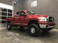 **LOW MILE CUMMINS** THIS 2007 DODGE RAM 2500 CUMMINS