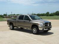 Year:2007 Make:Dodge Model:Ram 2500 Trim:SLT Mega