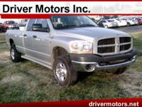 Exterior Color: silver, Body: Pickup, Engine: I6 5.90L,