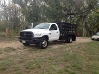 2007 Dodge Ram 3500. This is a White 2007 Dodge Ram
