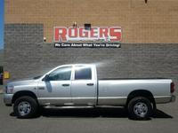 This 2007 Dodge Ram Pickup 3500 has a L6, 6.7L; Turbo