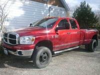 2007 Dodge Ram 3500 in Excellent Condition Red Exterior