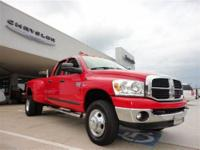 THIS 2007 DODGE RAM 3500 SLT JUST CAME IN. THIS DODGE