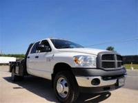 THIS 2007 DODGE RAM 3500 JUST CAME IN. THIS DODGE