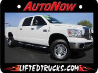 2007 DODGE RAM 3500 MEGA CAB 5.9L DIESEL TRUCK FOR