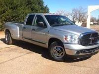 2007 Dodge Ram Dually Truck This diesel dually truck