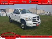 Clean AutoCheck, Alloy Wheels, Ram 2500 Laramie,