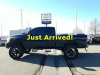 Black 2007 Dodge Ram 2500 SLT 4WD 6-Speed Manual
