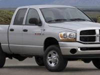 Come see this capable 2007 Dodge Ram 2500 SLT. Variable