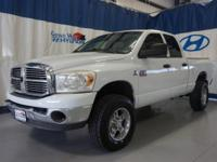 White 2007 Dodge Ram 3500 SLT 4WD 6-Speed Automatic