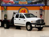 This Carfax 1-Owner 2007 Dodge Ram 3500 SLT is in great