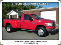 Options:  2007 Dodge Ram 3500 One Owner Carfax! 4Wd!