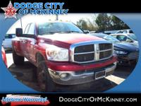 Step into the 2007 Dodge Ram 3500! Very clean and very