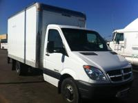 Up For Sale 2007 Dodge Sprinter 3500 Box Truck With