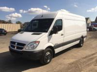 BEAUTIFUL 2007 DODGE SPRINTER 3500 DUALLY REAR WHEELS