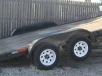 I have for sale a 2007 Doolittle Flatbed TILT Trailer I