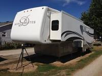 This is a 2007 Double Tree Mobile Suites 36 RSSB3 Fifth