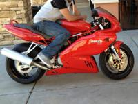 Up for sale 2007 Ducati 800 supersport 12k miles in