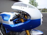 2007 NCR Ducati New Blue Sport Classic Cafe Racer. This