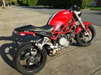 Up for sale is an awesome 2007 Ducati S2R Monster 800