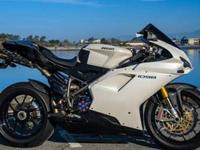 This is a Ducati 1098 that has actually been modified