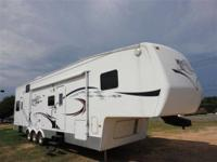 THIS 2007 DUTCHMEN VICTORY LANE 5TH WHEEL CAMPER JUST