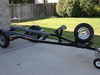 2007 ECHO TRAILER,SWIVEL JACK,WINCH,SPARE TIRE,GAS CAN