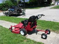 2007 EXMARK WALKBEHIND 48 INCH CUT hydro no belts to