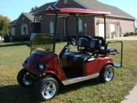 Very nice 2007 EZ Go gas golf cart, completed