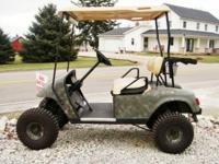 HUNTER'S SPECIAL! CHECK OUT THIS 2007 EZ GO TXT GOLF