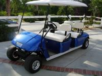 This is a 2007 just built Ez-go Electric limo golfcar,
