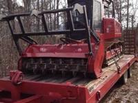 2007 Fecon FTX 140 FM Forestry Mower. This 2007 Fecon