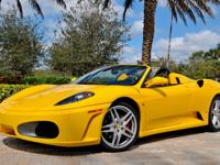 2007 Ferrari 430 Spider F1 Yellow Trim: Spider