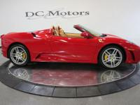 This F430 Spider comes equipped with factory shields,