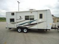 2007 22' fleetwood mallard sport travel trailer used 4