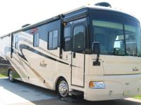 2007 Fleetwood 38V Bounder Double Slide Out with full