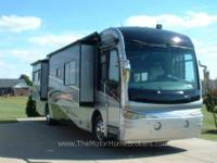 Model 40L with 4 slide-outs. A stunning luxury coach !