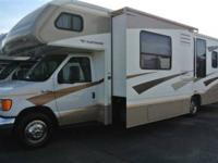 2007 Fleetwood Tioga 31M Ford E450 * Double-Slide *