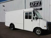 Terrific Running Gas Step Van With Only 65K Miles.