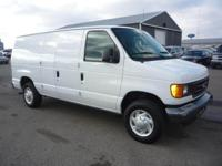 Options Included: N/AThis 2007 E150 Cargo Van is
